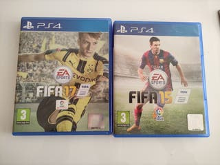 Pack FIFA 15, 16 y 17 PS4