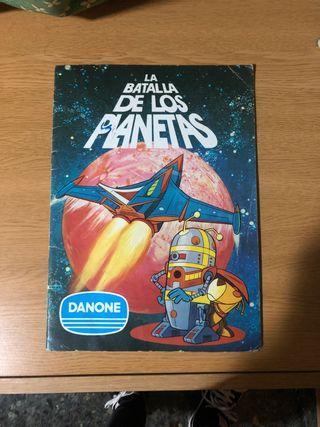 Álbum de colección la batalla de los planetas
