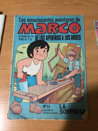 Las emocionantes aventuras de Marco