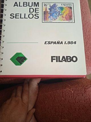 album completo de sellos espanoles