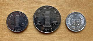 Monedas China