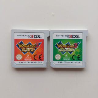 Juegos Nintendo 3DS Inazuma