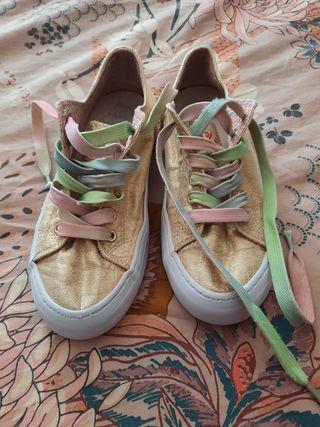 zapatillas, bambas 37 paola