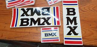 Adhesivos bicicleta BMX