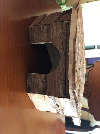 Casita Roedor madera