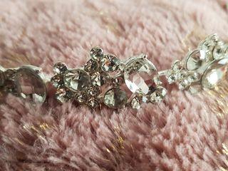 diadema tiara cristal