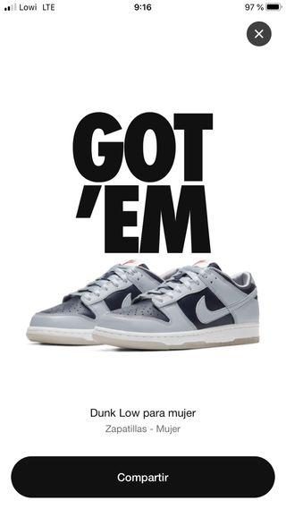 Nike Dunk Low College Navy Grey (10W)