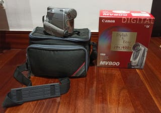 Cámara de vídeo y fotos Canon MV800