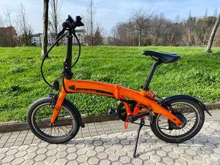 Bicicleta eléctrica plegable MEGAMO EXECUTIVE 18''