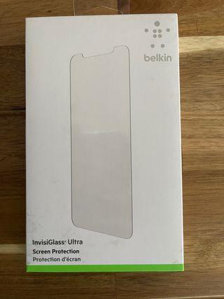 Cristal templado Belkin para iPhone 11 pro max