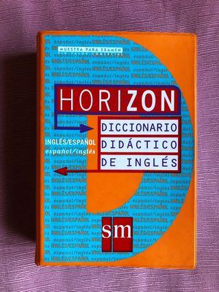 Diccionario Inglés Didáctico SM Bolsillo Horizon