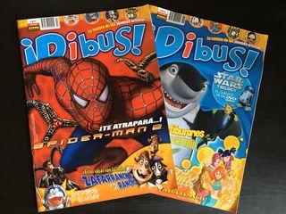 Pack revista Dibus Agosto y Octubre 2004