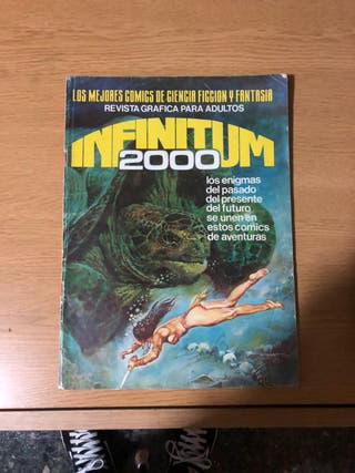 Revista cómic colección infinitum 2000