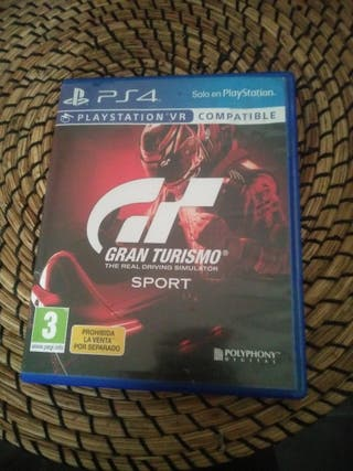 juego GRAN TURISMO ps4