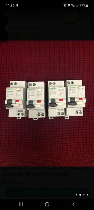 interruptores automáticaos + diferencial