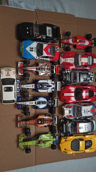 Lote coches scalextric