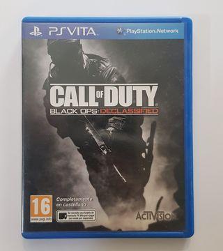 Videojuego Call Of Duty para Ps Vita.