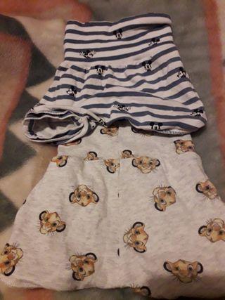 2 pantaloncitos verano 0/3 meses