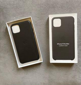 Funda piel original IPhone 11 Pro max.