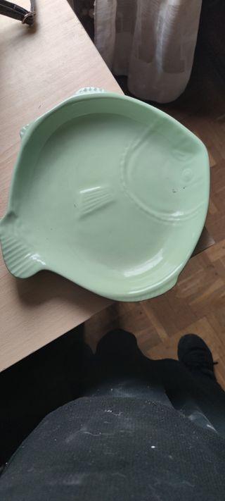 fuente de cerámica apta para el horno
