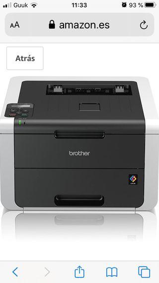 Impresora Color Láser Brother y 4 cartuchos nuev