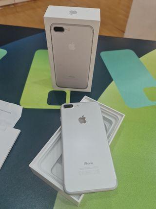 IPhone 7plus 128gb silver OFERTA