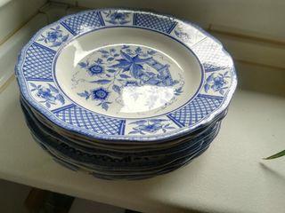 platos cerámica francesa Decor La Fayette