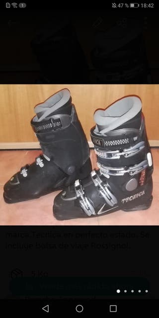 Botas de esquí Tecnica