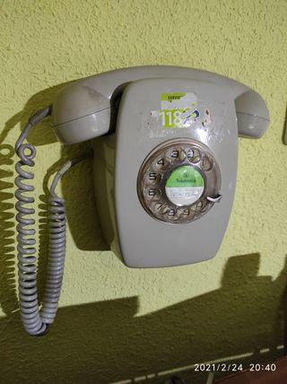 teléfono clásico.