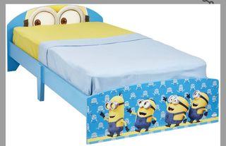 cama de 90, de los Minions