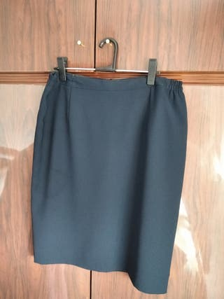 Falda talla 46-48 Azul marino