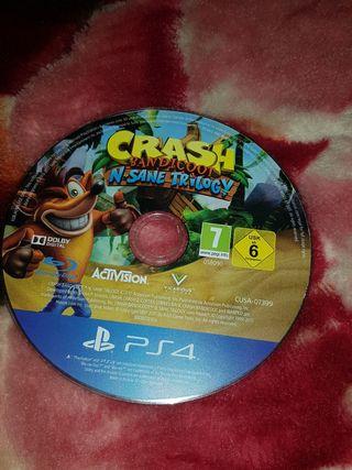juego ps4 crash
