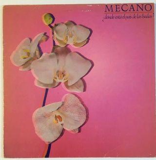 MECANO Disco Vinilo LP
