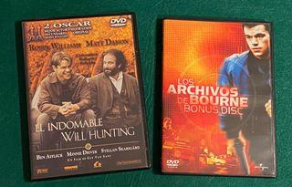 Los archivos de Bourne y El indomable Will Hunting