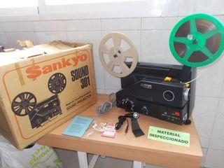 Proyector de Cine Super8 Sonoro SANKYO SOUND 301