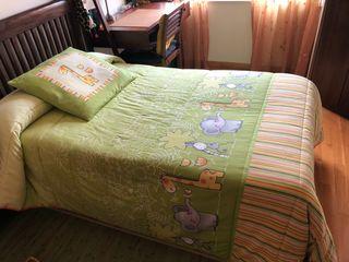 Edredón infantil para cama de 105