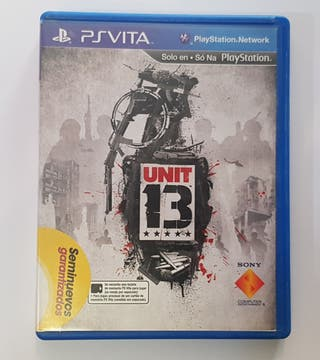 Videojuego Unit 13 para Ps Vita.