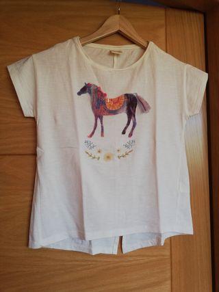 Camiseta niña Zara talla 9-10