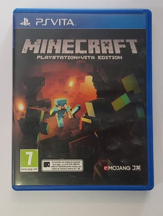 Videojuego Minecraft para Ps Vita.