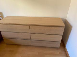 Cómoda 6 cajones Ikea