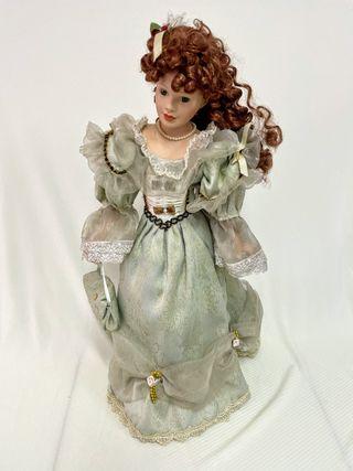 Muñeca de porcelana 50cm