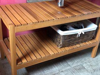 Mueble 2 estantes / banco