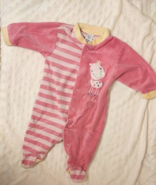 pijama de bebé talla 62