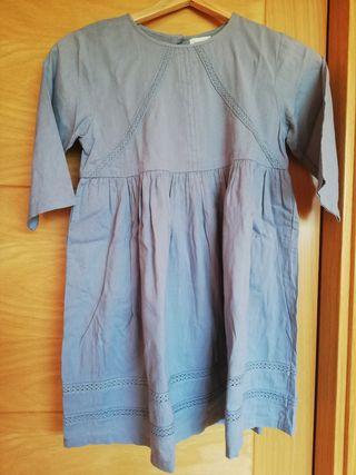 vestido niña talla 12 marca Bonnet a pompom