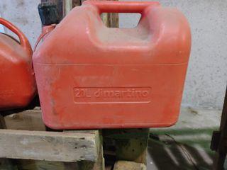 garrafa de gasolina homologada de 20l