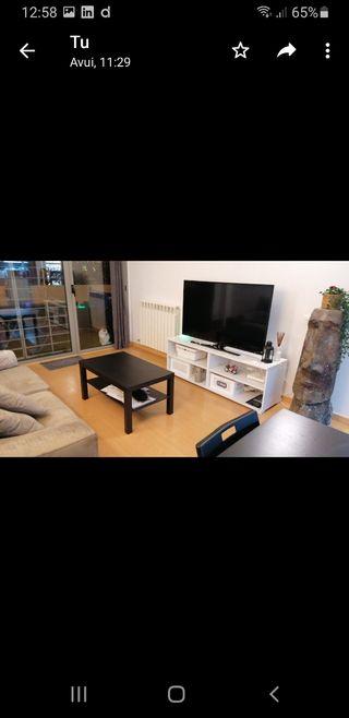 mueble blanco para tele