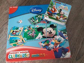 juego y cuento de la casa d Mickey Mouse