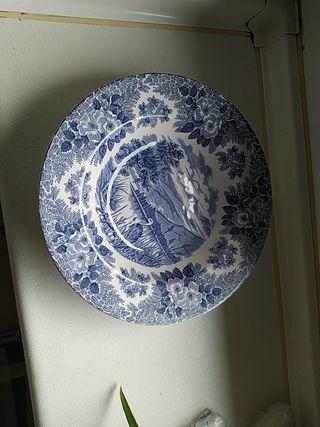 platos hondos de cerámica Italiana