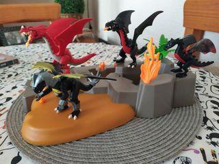 Playmobil dragones todo
