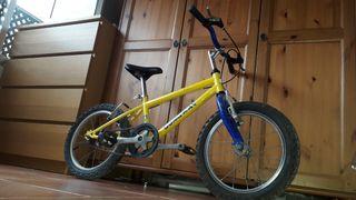 Bicicleta Longway 16 pulgadas
